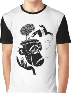 Numb Skull Monkey Graphic T-Shirt