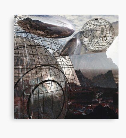 Alien Landscape #3 Canvas Print