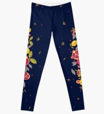 9caad2e1b22af By smalldrawing. $41.66. Mysterious tropical garden. Leggings