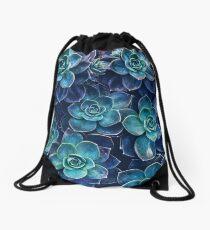Succulents Drawstring Bag