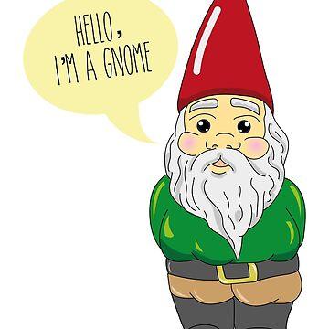 Hello, i'm a gnome! by paintingpanda