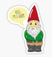 Hello, i'm a gnome! Sticker