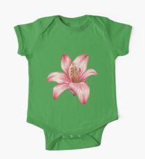 lily flower One Piece - Short Sleeve