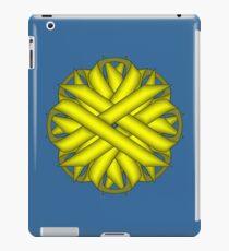 Yellow Flower Ribbon iPad Case/Skin