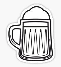 Beer tankard beer glass Sticker