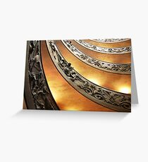 Vatican Museums Greeting Card