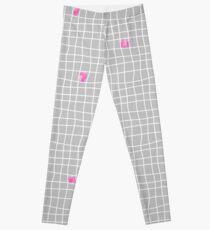 Carreaux - Grey/Pink - Bis Leggings