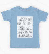 Sketching a Neighborhood Kids Clothes