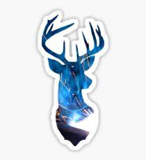 Deer Sparks Sticker