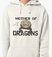 Mère des dragons barbus Sweat à capuche