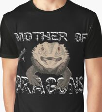 Mother of Bearded Dragons Graphic T-Shirt