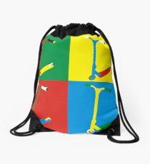 Colour Scooter no FSC logo Drawstring Bag
