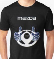 Mazda Eternal Flame Logo Blue T-Shirt