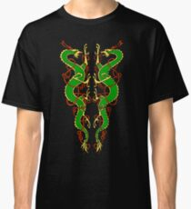 Celtic Dragon Pair Classic T-Shirt