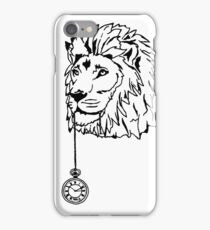 Lion of Time iPhone Case/Skin
