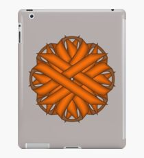 Orange Flower Ribbon iPad Case/Skin