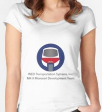MK-X Monorail Development Team Women's Fitted Scoop T-Shirt