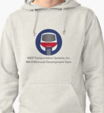 MK-X Monorail Development Team Pullover Hoodie