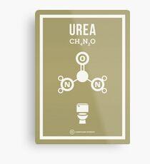 Urea Metal Print