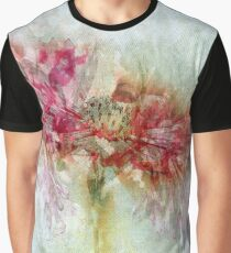 Floral Abstract Graphic T-Shirt