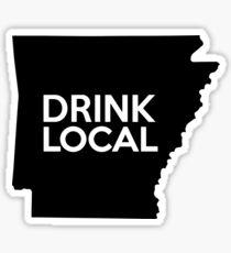 Arkansas Drink Local AR Sticker