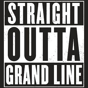 Straight Outta Grand Line Quotes by Titenono