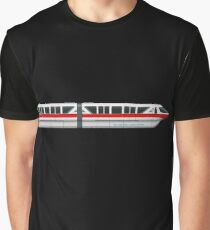 Monorail Red Graphic T-Shirt