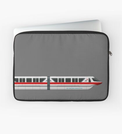Monorail Red Laptop Sleeve