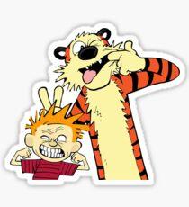 Calvin And Hobbes Fun Art Sticker