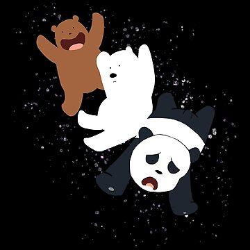Bare Bear Fly by Titenono