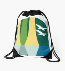 Lake Buena Vista Classic Logo Drawstring Bag