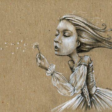 dandelion wishes (LaNanDeSha) by mfsart