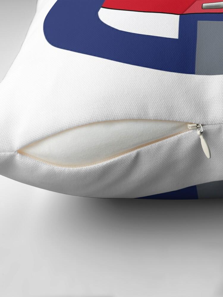 Alternate view of Monorail Logo Throw Pillow
