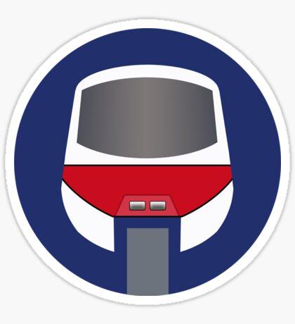 Monorail Logo Sticker