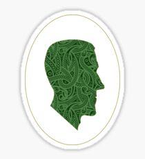 Lovecraft Silhouette Sticker