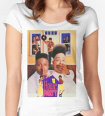 House Party (1990) Women's Fitted Scoop T-Shirt