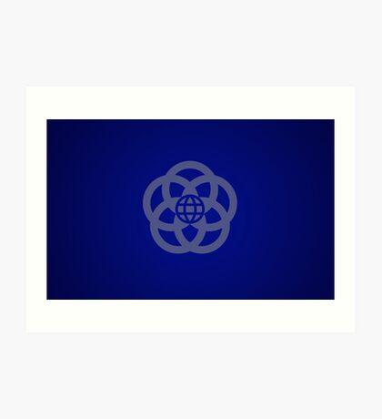 EPCOT Center Retro Logo Art Print