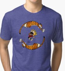 Calvin And Hobbes Fun Tri-blend T-Shirt