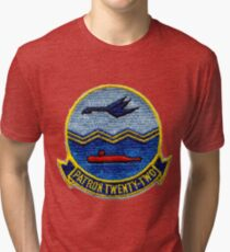 VP-22 - Blue Geese Tri-blend T-Shirt