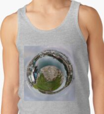 Hurry Head Harbour, Carnlough, County Antrim - Sky out Men's Tank Top