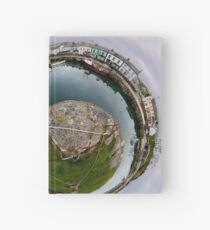 Hurry Head Harbour, Carnlough, County Antrim - Sky out Hardcover Journal