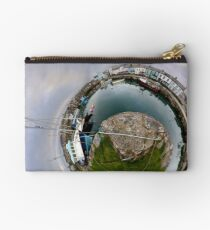 Hurry Head Harbour, Carnlough, County Antrim - Sky out Studio Pouch