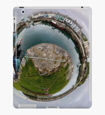 Hurry Head Harbour, Carnlough, County Antrim - Sky out iPad Case/Skin