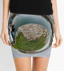 Hurry Head Harbour, Carnlough, County Antrim - Sky out Mini Skirt