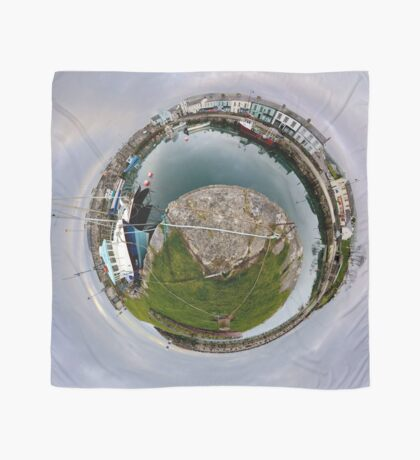 Hurry Head Harbour, Carnlough, County Antrim - Sky out Scarf