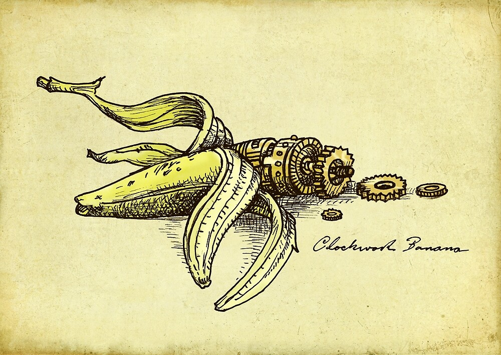 Steampunk Banana
