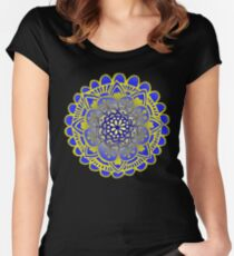 Royal Mandala Design Women's Fitted Scoop T-Shirt