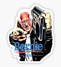 Bernie Sanders Shirt Brooklyn NYC NY Funny President Hip Hop B-Boy Democrat Sticker