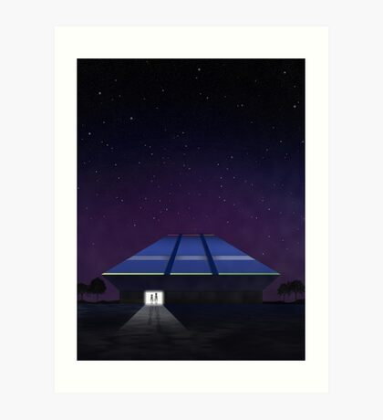 Horizons from EPCOT Center Art Print
