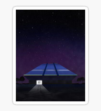 Horizons from EPCOT Center Sticker